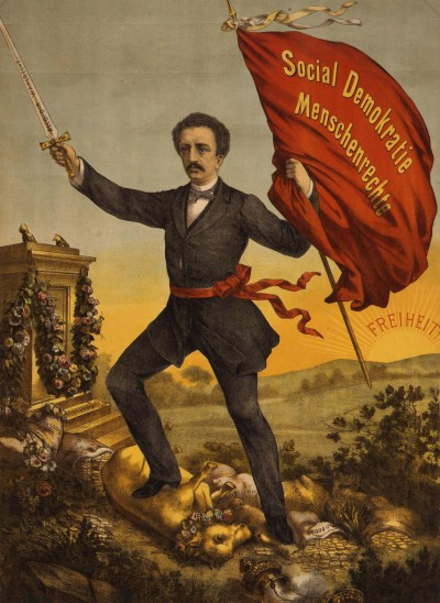 Ferdinand Lassalle, the founder of the German Social Democratic party, circa 1870 © DHM
